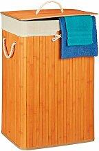 Wäschebehälter aus Bambus BohoLiving