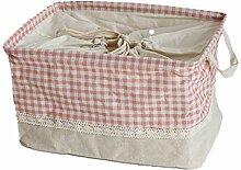Wäschekorb, Prämie Baumwollkleidung Faltbar