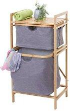 Wäschesammler HWC-B56, Regal Wäschesortierer