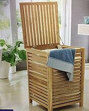 Wäschetruhe Wäschebox Aufbewahrung Holz