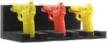 Waffenhalter für 5 Kurzwaffen schwarz, Rottner,