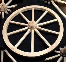 Wagenrad Wagon groß 70Massivholz Beste