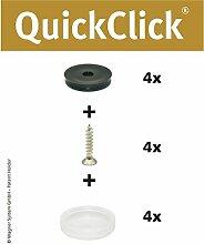 WAGNER QuickClick® Stuhlgleiter // 4er-Set zum