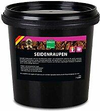 WAGNER Seidenraupen getrocknet - 1 Liter (300 g)