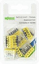 WAGO 790273205Borne Schnelle 5x 0,5–2,5mm gelb 10x