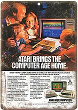 WAHAH Atari Home Computers Blechschild Metall