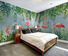 WAHAZC Tapete Hintergrundbild Tropische Blätter
