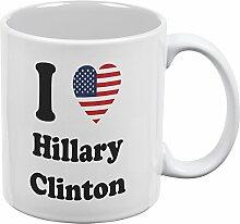 Wahl 2016 - Herz ich Hillary Clinton White aller