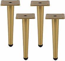 WaiMin 4 x Möbelstützfüße - Schmiedeeiserner