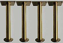 WaiMin Einstellbare Möbelfüße Metall