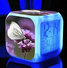 Wake Up Light Flower Butterfly Wecker Für Kinder