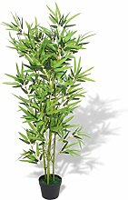 Wakects Kunstbambus Künstliche Bambus Pflanze