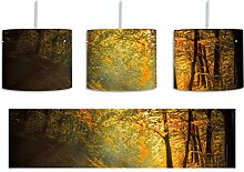 Wald inkl. Lampenfassung E27, Lampe mit