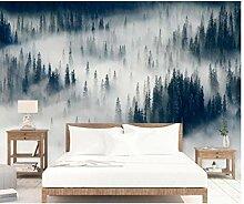 Wald Wandbild Fotografie Tapete für Wohnzimmer