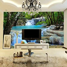 Wald Wasser Landschaft Fototapete Für Wände 3D