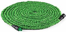 Waldbeck • Water Wizard Extend • flexibler Gartenschlauch • Wasserschlauchverlängerung • dehnbar bis 30 Meter • Bewässerung • Klickverbindung • selbstaufrollend • Wasserhahn Adapter • Schnellkupplung • knickfest • federleicht • grün