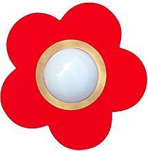 Waldi Leuchten Außenleuchte Petit Fleur rot Rot | 75W | 65644.0
