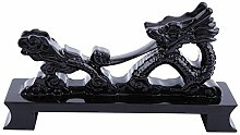 Walfront 1 Stück Schwarz Chinesischen Drachen