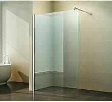 Walk in Dusche Klar Glas | Walk in Größe: 110 x