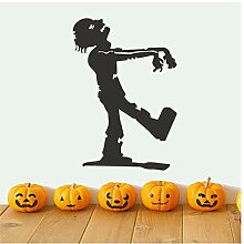 Walking Zombie Die Mumie Halloween Party Aufkleber