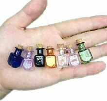 wall-8-CC Glas-Flaschen, rechteckig, süße