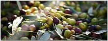 Wall-Art Acrylglasbild Mediterrane Oliven -