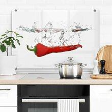 Wall-Art Herd-Abdeckplatte Spritzschutz Küche
