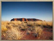 Wall-Art Poster Ayers Rock Sonnenuntergang,
