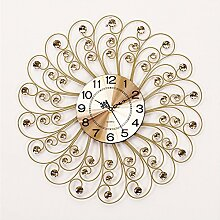 Wall Clock Modern Creative Mute Living Zimmer Wall Clock Wand Dekoration Clock 59x59cm