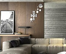 Wall Clock Wanduhr Modernes Design Decoration Uhren NEU Spiegel Geschenk Shine