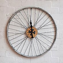 Wall Clock WTL LOFT Industrial Retro Fahrrad Felge