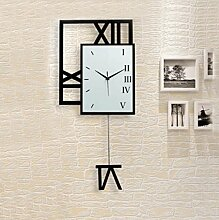 Wall Clock WTL Wohnzimmer Wanduhr Mode kreative