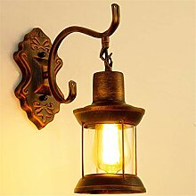 - wall lamp, retro - laterne, industrielle wind