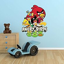 Wall Smart Designs Angry Birds Full Farbe