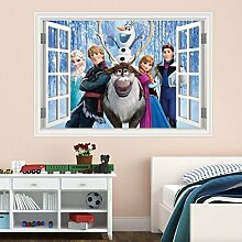 Wall Smart Designs Disney Frozen Fenster Full
