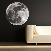 Wall Smart Designs Full Farbe Moon Space Planeten