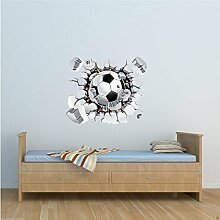 Wall Smart Designs Fußball Full Farbe Art Wand
