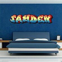 Wall Smart Designs Wandbild Aufkleber - Motiv