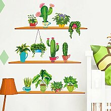 Wall stickers Art wall sticker cactus plant