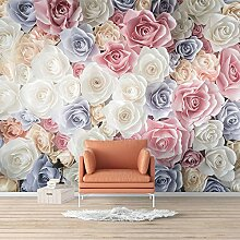 Wall26 Wandbild Elegante Rose Blumen Foto