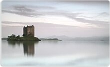 Wallario Frühstücksbrett Schloss in Schottland,