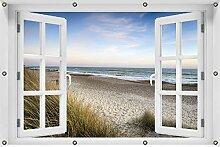 Wallario Garten-Poster Outdoor-Poster ca. 100 x