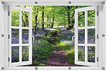 Wallario Garten-Poster Outdoor-Poster ca. 80 x 120
