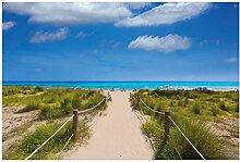 Wallario Garten-Poster Outdoor-Poster - Sandweg