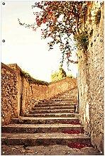 Wallario Garten-Poster Outdoor-Poster, Steinerne