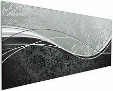 Wallario Küchenrückwand aus Glas, in Premium