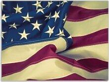 Wallario Schneidbrett Amerikanische Flagge im