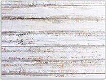 Wallario Schneidbrett Helle Holzstruktur - Muster