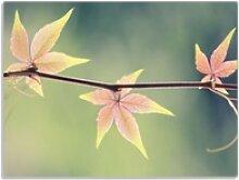 Wallario Schneidbrett Herbstblume, ESG-Glas,