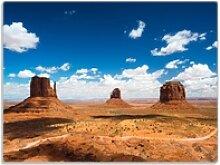 Wallario Schneidbrett Monument Valley, ESG-Glas,